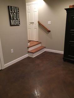 Acid Stained Concrete Floors Bethlehem & Allentown PA | Endless ... Floors for garage