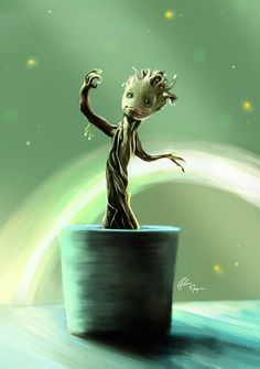 Baby Groot - Flore Maquin