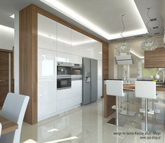 Modern Kitchen Interiors, Modern Kitchen Cabinets, Modern Kitchen Design, Modern House Design, Interior Design Kitchen, Kitchen Pantry Design, Best Kitchen Designs, Home Decor Kitchen, New Kitchen