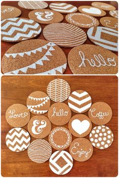 DIY Cork Coaters DIY Cork Coaters The post DIY Cork Coaters appeared first on Suggestions. DIY Cork Coaters DIY Cork Coaters The post DIY Cork Coaters appeared first on Suggestions. Diy Crafts Home, Upcycled Crafts, Etsy Crafts, Sell Diy, Diy Crafts To Sell, Sharpie Crafts, Sharpie Paint, Wine Cork Crafts, Cork Coasters