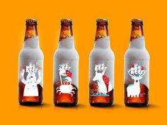 冷やすことで物語が現れるビール「Bebeer」