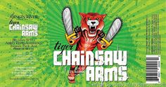 mybeerbuzz.com - Bringing Good Beers & Good People Together...: Singin' River Brewing - Tiger Chainsaw Arms