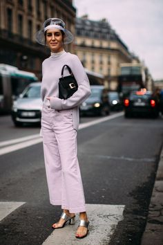 Best Street Style Looks of PFW Fall 2018