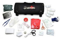 ThinkGeek :: 12 Survivors Roll Up Survival Kits