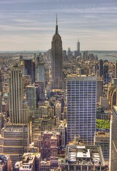 Empire State Building from the Top of the Rock , Manhattan   Flickr - Photo Sharing!