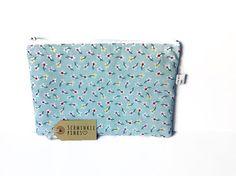 Floral Pencil Case / Makeup Bag by SchminklePinks on Etsy