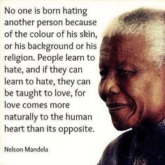 I love, admire and am inspired by Nelson Mandela. As he is nearing his final sunset, I find myself leafing through the stacks of books I have by him and about him. He has left a beautiful legacy for not just his country but for the world. <3