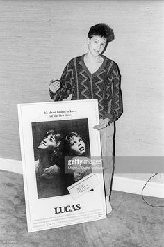Actor Corey Haim attends a press screening for his movie 'Lucas' on March 13 1986 in New York City, New York.