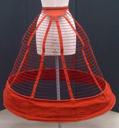 A Favorite Of The Empress (Cage crinoline) | V&A Search the Collections