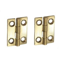 Small Brass Hinges 2 Pcs Butt Cigar Jeweller Trinket Box Tiny Innovation, Brass Hinges, Trinket Boxes, Cigars, Product Design, Bookends, Jewels, Make It Yourself, How To Make