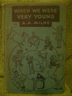 Book by AA Milne Winnie the Pooh author When by AntiquesByReilly, $12.00