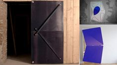 La porte design Evolution Door qui s'ouvre de manière originale – Tuxboard