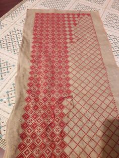 Cross Stitch Geometric, Cross Stitch Patterns, Shashiko Embroidery, Japanese Patchwork, Kantha Stitch, Bargello, Embroidery Patterns, Diy And Crafts, Projects To Try