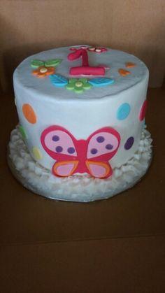 Butterfly smash cake - Dee Miller
