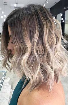 Normal Hair Color Trends for Short Hairstyles 2018