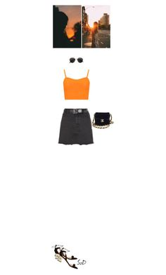 By the way I tried to say I'd be there.. by doraszucs on Polyvore featuring WearAll, New Look, Aquazzura, H&M and Chanel
