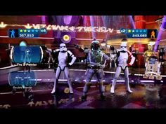 """Kinect Star Wars - Empire Today - Stormtroopers & Boba Fett dancing it out to a remake of YMCA, called """"Empire Today"""". It's fantabulous!"""