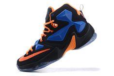 new products db4d9 4a584 2016-2017 Sale Nike LeBron 13 XIII Hero Black Total Orange New Arrival 2016  Orange