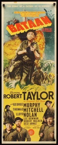 1943 movie posters Belgian | bataan film year 1943 size insert country u s condition very good ...