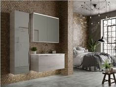Utopia is the UK brand leader in fitted bathroom furniture. View our large range of bathroom furniture and find your nearest retailer today. Grey Bathroom Furniture, Minimalist Bathroom Furniture, Contemporary Bathroom Furniture, Minimalist Bathroom Design, Bathroom Vanity Units, Contemporary Bathroom Designs, Minimalist Home Decor, Minimalist Interior, Bathroom Storage
