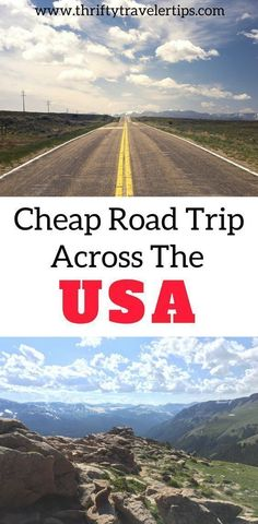 Are you looking to plan a trip on a budget? If so, you need to check out this cheap road trip across the USA. We spent only $60 a person per day and could have cut that budget down to $30 a day had we brought a tent. This road trip on a budget is perfect for a trip on a college student budget. See how we saved money, our budget breakdown, and some tips we learned along the way. Be sure to save these budget travel tips to your travel board so you can find them later! #travelscheapusa…