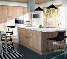 Afbeeldingsresultaat voor ikea keuken hyttan