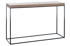 Konsola drewno metal loft / industrialna. Wooden and metal industrial / loft console.