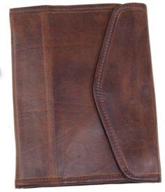 iPad leather sleeve.