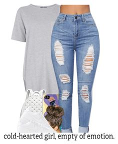 """Thursday "" by baaaditori ❤ liked on Polyvore featuring Topshop, Michael Kors and NIKE"