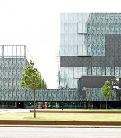 Utrecht Univer Library outside Utrecht, Holland
