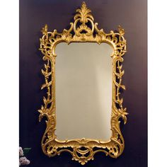 Ornate Mirror, Mirrors, Scully And Scully, Silver Swan, Sweet Box, Hand Molding, Scale Design, Acanthus, 18th Century