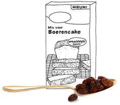 Boerencake maak je met echte boerenboter, niet met margarine. En al helemaal niet met een pakje natuurlijk.