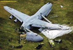 Plane Crash | STRANGE MILITARY CARGO PLANE CRASH