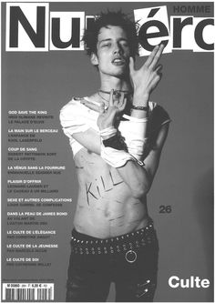 Sylvester Ulv Henriksen - Numero Homme F/W 13 COVER