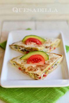 .. chute a vône mojej kuchyne...: Quesadilla Co Uk, Russian Recipes, Guacamole, Mexican Food Recipes, Quesadillas, Dips, Salads, Pizza, Yummy Food