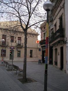 Street knitting a Sabadell