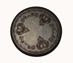 Black Leather Coaster Set | eBay