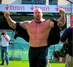 He is the Champion! Hafþór Thor took home the title in another dominating display of strength