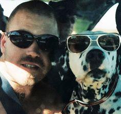bradley nowell's dog Lou-Dog!!!        R.I.P.