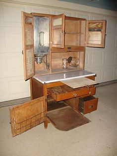 Best Kitchen In 1910 Antique Hoosier Cupboards 1910 Hoosier 640 x 480