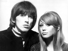 Pattie Boyd and George Harrison