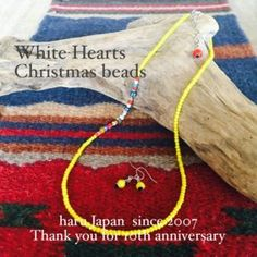 haru.Japan works Whiteheart Christmas beads