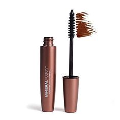 Mineral Fusion Lengthening Mascara, Graphite, Ounce: Natural mascara defines and conditions lashes with mineral pigments. Hypo-allergenic formula naturally nourishes and protects to promote lash health & length. Mascara Review, Mascara Tips, How To Apply Mascara, Applying Mascara, Makeup Dupes, Eye Makeup, Clean Makeup, Makeup Hacks, Hair Makeup