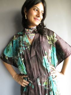 Cozy Kaftan Style made From B1 Fabric Pattern