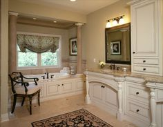 Halifax Avenue Residence Master Bathroom - traditional - bathroom - minneapolis - by Martha O'Hara Interiors