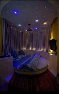 Magical Celestial Night Bedroom
