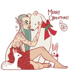 I hope everyone is having a happy holiday! ______________________________________________ Art by Jessica Madorran  TUMBLR   BLOG    SHOP