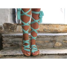 Customizable Lace Up Sandals Ribbon Strap Sandals Choose Scarf Laces... (135 CAD) ❤ liked on Polyvore featuring shoes, sandals, black, gladiator & strappy sandals, women's shoes, leather gladiator sandals, lace up sandals, black leather sandals, wide gladiator sandals and black leather shoes