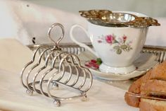 Children's Silver Plate English Toast Rack Barker by PearlsParlor