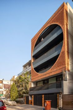 The bold design was informed by the work of American architect Louis Kahn, who was responsible for several important projects in India and Bangladesh in the early 1960s.